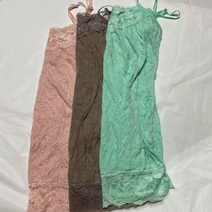 Bundle of Maurices Tank Tops